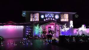 brisbane christmas lights 2014 brandella place belmont youtube