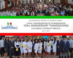 eastern canada the children s worship iglesia ni cristo