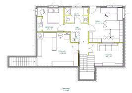 center colonial floor plans basement floor plans finished basement floor plans finished