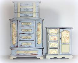 Farmhouse Armoire 74 Best Jewelry Box Redo Images On Pinterest Altered Boxes