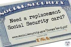 So You Ve Lost Your Social Security Card And Need A Replacement