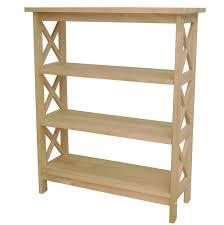 blonde wood bookcase wayfair