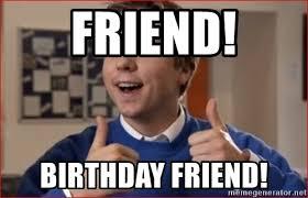 Inbetweeners Friend Meme - friend birthday friend simon from the inbetweeners meme