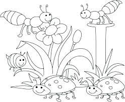 spring coloring sheets spring coloring pages for kids spring coloring pages spring spring