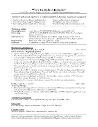 System Support Resume Useful Resume Technical Support Manager In It Support Manager
