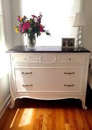 Glossy White Dresser The Power Of Blue U2026 And How It Consumed Me And My Furniture