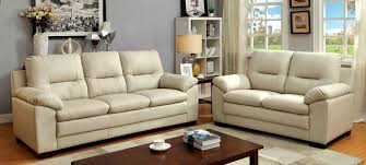 Overstuffed Sofa And Loveseat by 2 Pc Parma Collection