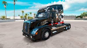 skin big mama tattoo on tractor volvo vnl 670 for american truck