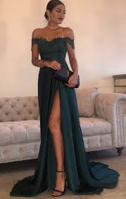 green dresses for weddings green prom dresses a line chiffon the shoulder floor