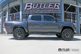 tacoma lexus wheels toyota tacoma with 18in fuel trophy wheels exclusively from butler