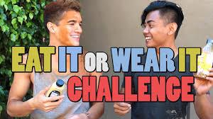 Challenge Wassabi Productions Eat It Or Wear It Challenge