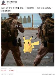 Us Marine Meme - safety first pokémon go know your meme