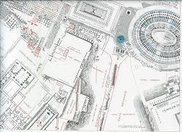 Black Temple Map Northeast Palatine Temple Of Venus And Roma Colosseum Rodolfo