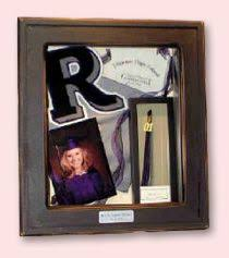 graduation shadow box cap and gown graduation shadow box graduation display graduation