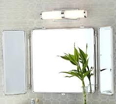 tri fold mirror bathroom cabinet tri fold bathroom mirror bathroom mirror astounding inspiration fold