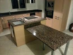 fabriquer plan de travail cuisine table cuisine plan de travail plan de travail et table de bar en