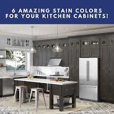 kitchen cabinets gray stain 6 amazing stain colors for your kitchen cabinets builders