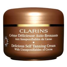 clarins women s cosmetics and perfumery usa online shop buy clarins creme delicieuse autobronzante aux cacao 125ml facial cosmetics women s and perfumery clarins
