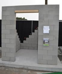 build your own home calculator build with cinder block brick wall without mortar painted cinder