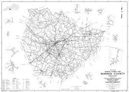 Ky Map Warren County Kentucky Map