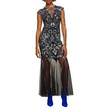 selfridges wedding dresses miss selfridge maxi dress black at lewis