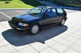 1991 honda civic si hatchback 1991 honda civic si low mileage original condition for