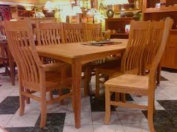 Mission Dining Room Table Solid Cherry Mission Dining Chairs Boulder Furniture Arts