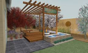 Japanese Patio Design Exterior Beautiful Rooftop Landscape Patio Designs Surrounded