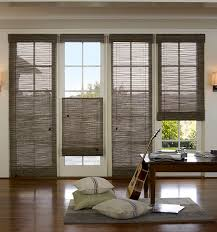 Roman Shade For French Door - marvellous bamboo blinds french doors 62 in best interior with