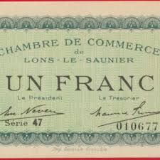chambre de commerce lons le saunier rouen un franc chambre de commerce 1920 fdcollector