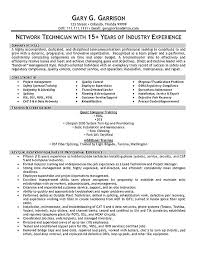 Sample Resume For Maintenance Engineer by Technician Resume Example