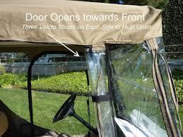 amazon com golf cart driving enclosure 2 seater golf cart