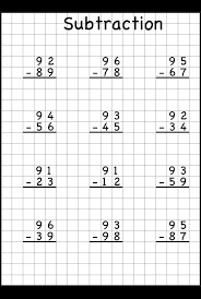 subtraction regrouping common core math pinterest
