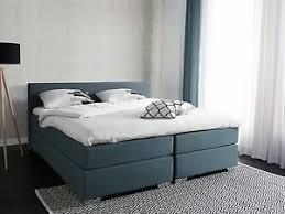 chambre 180x200 lit lit boxspring lit lit 180x200 cm lit en tissu gris