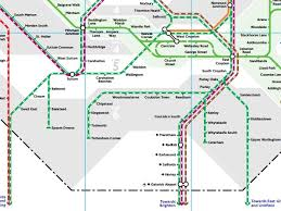 St Pancras Floor Plan Gatwick Airport Debuts On London Tube Map The Independent