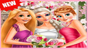 elsa and princesses wedding elsa wedding with jack frost best