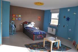 chambre garcon bleu et gris idée peinture chambre garcon lits coucher decoration colorees