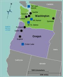 Oregon Map Us by Maps Us Map Northwest