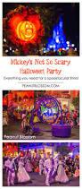 boo to you mickey u0027s not so scary halloween party tips peanut