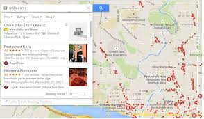 map of restaurants near me find or search nearby restaurants shops malls or any places in