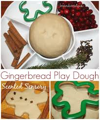 melting gingerbread man science with liquid density for christmas