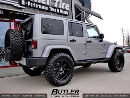 jeep with black rims jeep wrangler with 20in black rhino glamis wheels addition flickr