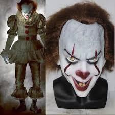 Halloween Costumes Pennywise Clown 2017 Mask Stephen King U0027s Fancy