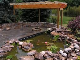 koi pond and fire pit landscape photos pinterest koi