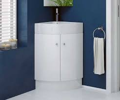 Square Sink Vanity Unit Rivera White 470 Freestanding Corner Vanity Unit With Sink