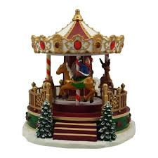 christmas carousel nicholas square christmas carousel with motion and