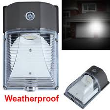 outdoor led photocell lights outdoor led wall mount yard security light 26w lighting dusk to dawn
