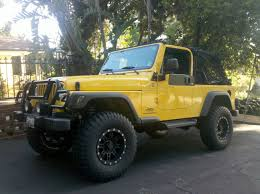 jeep yellow 2017 tk u0027s yellow krait ljk buildup by tkfx jeep wrangler tj build