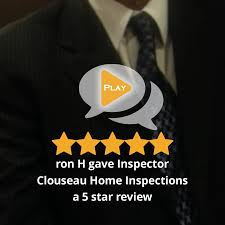 ron h gave inspector clouseau home inspections a 5 star review on