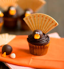easy thanksgiving cupcakes decorating ideas decoration image idea